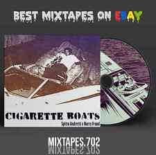 Curren$y - Cigarette Boats Mixtape (Art CD/Front/Back Cover) Official Currensy