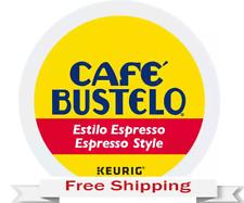 Keurig Cafe Bustelo Espresso Style Coffee K-cups 48 Count