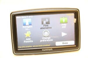 """TomTom XXL Car Auto SAT Navigation System 5"""" GPS Receiver 4EP0.001.02 Europe Map"""