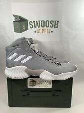 New listing Adidas Men's Pro Bounce Basketball Shoes Size 13 Gray Onix AH2665 New