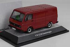 1975/86 Volkswagen VW LT28 Kastenwagen Van darkred rot 1:43 Premium classixxs