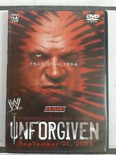 Wwf Wwe Wrestling Dvd Unforgiven 2003 Triple H vs Goldberg Shane McMahon Kane