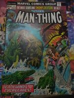 The Man-Thing # 3 1st Appearance Foolkiller Marvel 1973 Key MVS intact