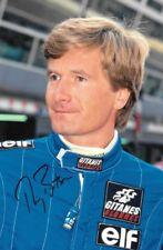 Thierry Boutsen SIGNED 9x6 ,  F1 Ligier-Lamborghini Portrait , 1991 GP Season
