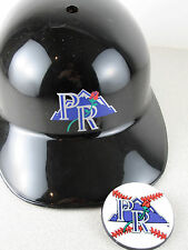 Portland Rockies Baseball LOT Batting Helmet/Fridge Magnet RaRe Hat Souvenir Vtg