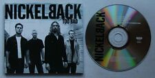 Nickelback Too Bad 2002 Digpack CD Enhanced