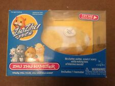 New listing Zhu Zhu Hamster Pets 2009 Patches Yellow White - New in original packaging