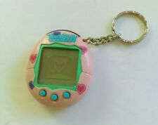 Vintage Tamagotchi Connection 2004 Pink Hearts Bandai Virtual Pet Tested