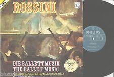 ROSSINI The Ballet Music DE ALMEIDA/MONTE CARLO 2 LP Philips 6780027 NM-