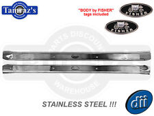 68-72 GM A Body STAINLESS STEEL Door Sill Scuff Plates