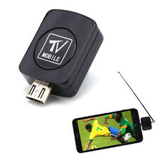 DVB-T Micro USB HD TV Tuner Receiver Dongle + Antenna For Android Phone Tablet
