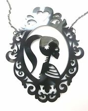 Jewelry & Watches Blue Bird Cameo Dark Silver Plated Pendant With Red Toadstool On White Ground Fashion Jewelry