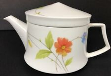 MIKASA JUST FLOWERS HIGH QUALITY CHINA MINI TEA POT A4182