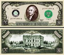 SLEEVE 37th President Richard Nixon Million Dollar Funny Money Novelty Note