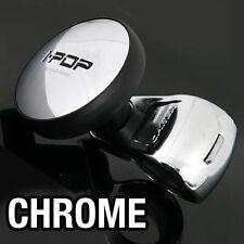 I-POP Chrome Car Steering Wheel Spinner Knob for HYUNDAI 2008 - 2015 i30 i30cw