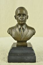 Signed Original Vladimir Putin Figure Bust Bronze Statue Sculpture Figurine Art