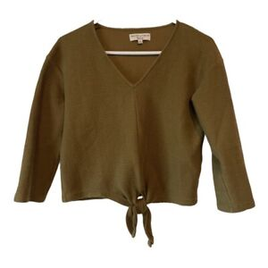 Texture and Thread by Madewell Top~Cropped~Sz. Small