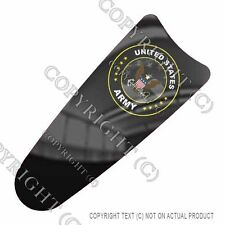 Intercom CB Dash Skin For Harley Touring 03-07 -  ARMY GHOST USA FLAG - 097