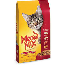 Meow Mix Hairball Control Dry Cat Food, 3.15-Pound