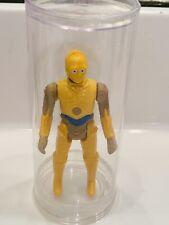 1985 Star Wars Droids Cartoon Tv Series C-3PO Figure Vintage In Display Tube