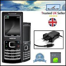 New Condition Nokia 6500 Classic Black Unlocked 3G Camera Bluetooth Mobile Phone
