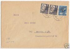 Bedarfsbeleg, SBZ / DDR, Mi.-Nr. 212 (2) Mif 189, Falkenstein (Vogtl), 13.4.49
