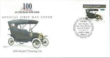 MARSHALL ISLANDS FDC - 1909 MODEL T TOURING CAR - CACHETED - NICE!