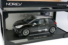 Norev 1/18 - Citroen DS3 Cabrio Noire