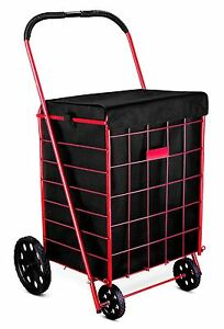 """""LINER"""" For Grocery Folding Shopping Cart - Attaches Easily To Cart"