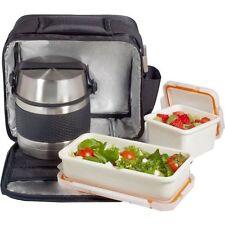 Bolsa porta alimentos Termosoft Valira con termo de 700 ml y 2 Tuppers.