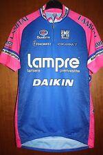 Maglia Radtrikot Shirt Maillot Ciclismo Lampre Daikin Santini Giro Tour