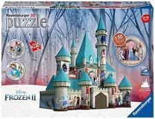 Ravensburger 11156 - Puzzle 3D del Castillo de hielo de Frozen II- 216 piezas