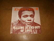 JOHNNY NASH - FALLING IN AND OUT OF LOVE - PEOPLE IN LOVE - ONLY COVER NO RECORD