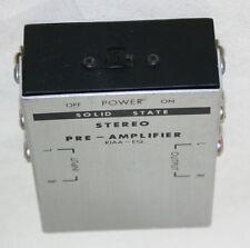 Techcessories Stéréo Phono Pré-amplificateur-TANDY Qualité 9 V Portable