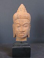 Testata da Budda Khmer arenaria del CAMBOGIA