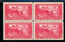 USAstamps Unused XF US Lexington-Concord Block of 4 Sctt 618 OG MNH Strong Color
