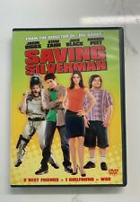 Saving Silverman (Dvd, 2001, Pg-13) Jack Black, Jason Biggs, Amanda Peet