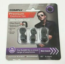 Comply Premium Earphone Tips Isolation Plus Wax Guard - Model TX-500 Replacement