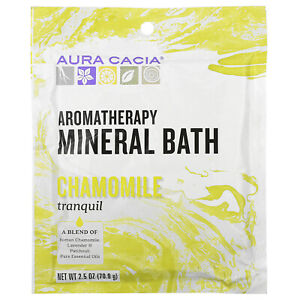 Aromatherapy Mineral Bath, Tranquil Chamomile, 2.5 oz (70.9 g)