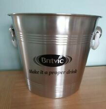 More details for new britvic ice bucket man cave retro vintage home bar pub drinks