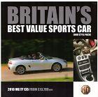 NAC MG TF 135 2010 UK Market Single Sheet Sales Brochure