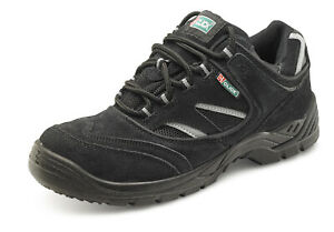 Click Dual Density Safety Trainer Shoe Steel Toe and Midsole S1P Src - Cddtb