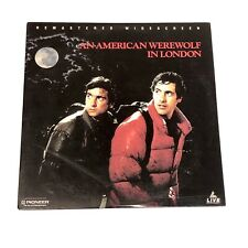 An American Werewolf in London ReMastered Widescreen LaserDisc Horror Movie