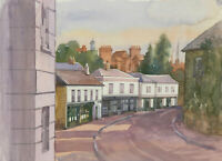 Clifford H. Thompson (1926-2017) - 20th Century Watercolour, Village Street