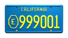 ADAM-12 | LAPD Malloy Plymouth Satellite | E999001 | STAMPED Prop License Plate