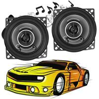 1Pair 4 inch 350W Car Coaxial Treble Speakers Auto Audio Music Loudspeakers