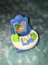 FISHER PRICE LOVING FAMILY TWIN TIME DOLLHOUSE KITCHEN BABY BOOSTER HI CHAIR BOY