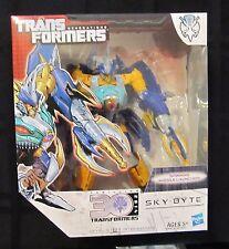 Transformers Generations 2014 PREDACON SKY-BYTE Figure Voyager Decepticon