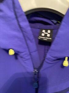 HAGLOFS  Mans Anorak / Jacket Size Medium Blue