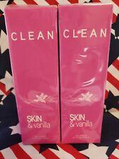 NEW x2 CLEAN FRAGRANCE SKIN & VANILLA EAU FRAICHE SPRAY PERFUME 5.9 OZ